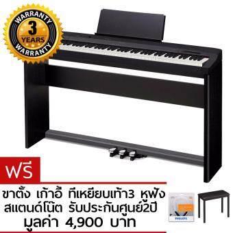 Casio เปียโนไฟฟ้า 88คีย์ รุ่น PX160 สีดำ (digital piano)