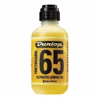 น้ำยาเช็ดคอกีตาร์ Dunlop Lemon Oil
