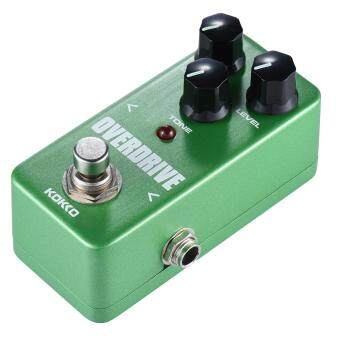 KOKKO FOD3 Mini Overdrive Pedal Portable Guitar Effect Pedal Green Outdoorfree - intl