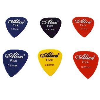 Alice Pick Guitar ปิ๊กขนาด 0.81 6 อัน