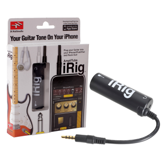 iRig AmpliTube Effect Guitar อุปกรณ์เพิ่มเอฟเฟคเสียงต่อกีต้าร์ กับ iphone (Black )