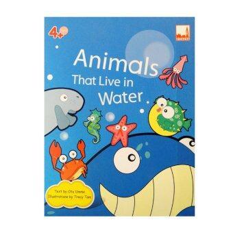 kidplus สื่อการเรียนการสอน Flash cards Animals That Live in Water