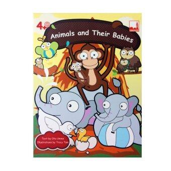 kidplus สื่อการเรียนการสอน Flash cards Animals and Their Babies