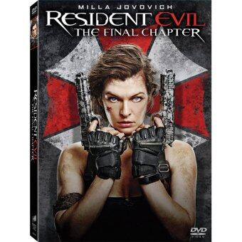 Harga Media Play Resident Evil:The Final Chapter อวสานผีชีวะ DVD