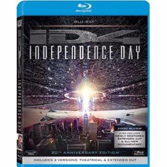 ไอดี 4 สงครามวันดับโลก: ฉบับครบรอบ 20 ปี/Independence Day: 20th Anniversary Blu-Ray