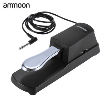 Harga ammoon Piano Keyboard Sustain Damper Pedal for Casio Yamaha Roland Electric Piano Electronic Organ - intl