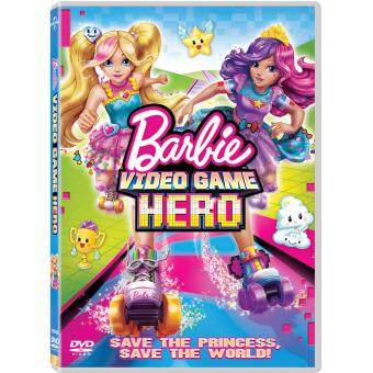 Media Play BARBIE: VIDEO GAME HERO บาร์บี้ ผจญภัยในวีดีโอเกมส์ DVD