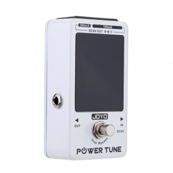 Harga Power Tune True Bypass Electric Guitar Bass Tuner & 8 Port Multi-power Power Supply - intl