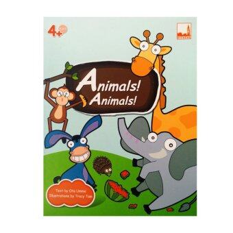 kidplus สื่อการเรียนการสอน Flash cards Animals Animals