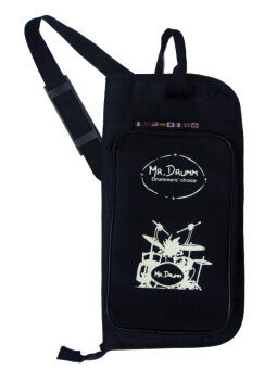 MR.DRUMM กระเป๋าใส่ไม้กลองแบบแบน รุ่น G2-BAG - Black
