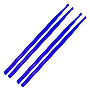 ไม้ตีกลองชุด ไม้ตีกลองพลาสติก สีน้ำเงิน2คู่ / Plastic Drum Stick 2 pairs - Blue / drumstick