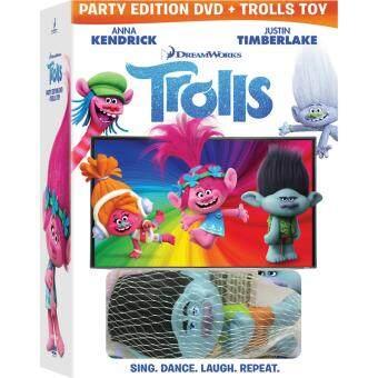 Media Play Trolls (SE with Squishy Stress Toy)/โทรลล์ส (สากล + ตุ๊กตาบีบคลายเครียด) DVD