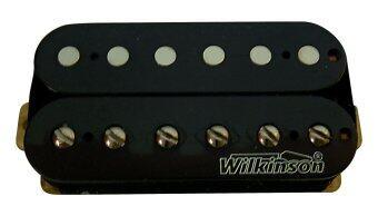 WIlkinson คอนแท็ค กีตาร์ ไฟฟ้าคู่ Les Paul ไม่มีฝา MWHB-Bridge BK (Black)