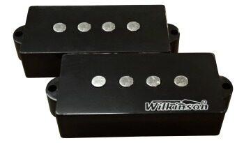 WILKINSON คอนแท็ค กีตาร์ เบสคู่ Vintage Voice รุ่น MWPB-BK