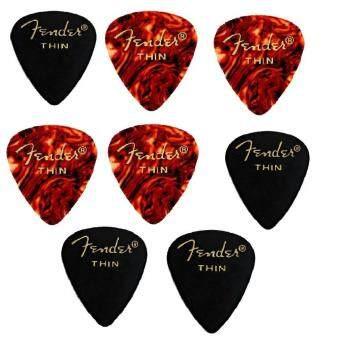 Fender ปิ๊กกีตาร์ รุ่น Medium (8ชิ้น)