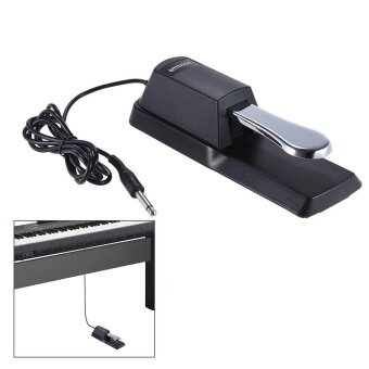 Harga ammoon Upgrading Piano Keyboard Sustain Damper Pedal for Casio Yamaha Roland Electric Piano Electronic Organ Outdoorfree - intl