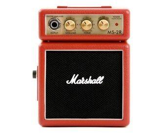 MARSHALL ตู้แอมป์ขนาดเล็ก รุ่น MS-2RD สีแดง