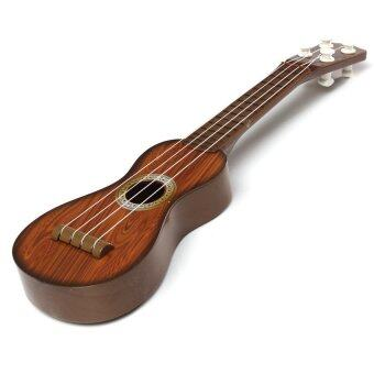 HAOFEI Kids Childs Childrens Musical Instrument Little Acoustic Guitar Toy For Practice Coffee