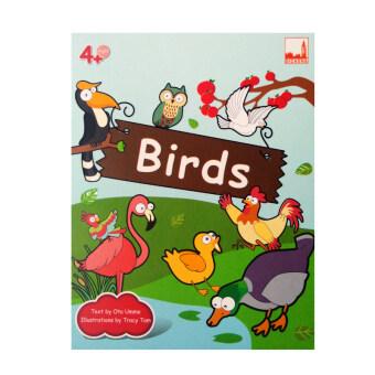 kidplus สื่อการเรียนการสอน Flash cards Birds
