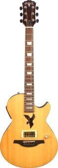 คาราบาว กีตาร์ โปร่งไฟฟ้า/กีต้าร์ไฟฟ้า MP2-SN-N 2in1 Multiplay Acoustic Electric Guitar Carabao