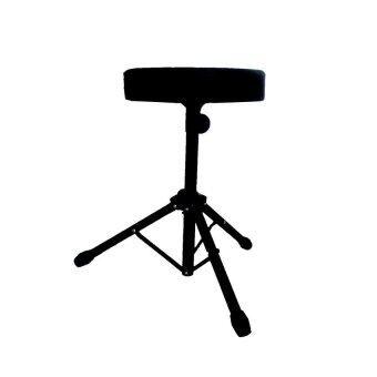 DEVISER เก้าอี้กลอง ขาเดี่ยวดำ Drum stool รุ่น PF-F11 (BK) (Black)