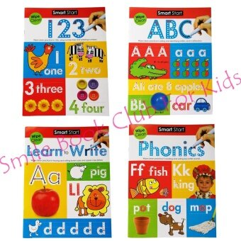 Harga Smart Start - Learn to (4 Wipe Clean Book Collection) (หนังสือภาษาอังกฤษ)