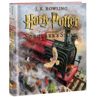 (US Version) แฮร์รี่ พอตเตอร์ กับศิลาอาถรรพ์ ฉบับภาพประกอบ 4 สี ภาษาอังกฤษ