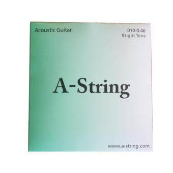 A-String สายกีตาร์โปร่งเบอร์ 10