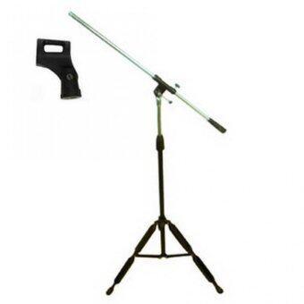 Stand Microphone Stand แถมฟรีหัวหนีบไมค์