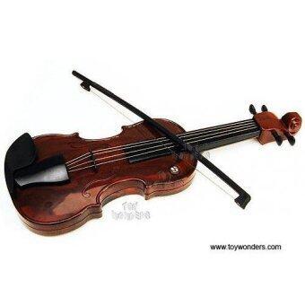 Toy Wondersไวโอลินของเล่นElectronic Toy Violin(Brown)