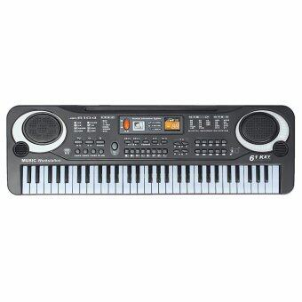 Harga 61 Keys Digital Music Electronic Keyboard Key Board Gift Electric Piano Organ - intl