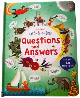 Usborne Lift the Flap - Questions and Answers (หนังสือภาษาอังกฤษ)
