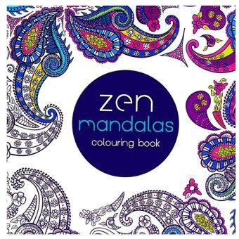 Harga 1PCS-Zen Mandalas 2016 New Secret Garden An Inky Treasure Hunt and Coloring Book for Children Adult Relieve Stress Kill Time Graffiti Painting Drawing Book - Intl