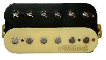 WILKINSON คอนแท็ค กีตาร์ ไฟฟ้าคู่ LP รุ่น MWHZ-Neck BK.IV