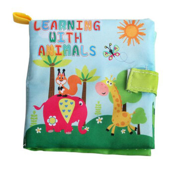 Harga Soft Cloth Book Infant Educational Newborn Learning Book (Animal)