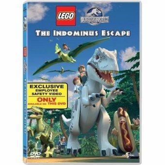 Media Play Lego Jurassic World: The Indominus Escape/เลโก้ จูราสสิค เวิลด์ : ผจญภัยไดโนเสาร์ตัวร้าย Dvd