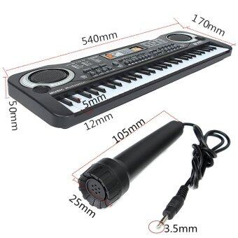 Harga 61 Keys Digital Music Electronic Keyboard Key Board Gift Electric Piano Organ