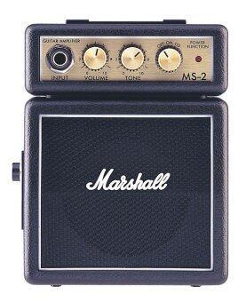 MARSHALL ตุ้แอมป์ขนาดเล็ก รุ่น MS-2BK สีดำ