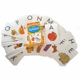 แฟลชการ์ด Alphabet Flashcards (โดย Brighter Child Flash Cards)