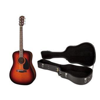 FENDER กีตาร์โปร่ง Guitar CD-60 SB +Case