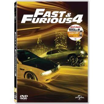 Media Play Fast And Furious 4 (New Line Look) เร็ว แรงทะลุนรก 4 : ยกทีมซิ่ง แรงทะลุไมล์ (ปกใหม่) DVD