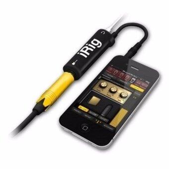 iRig AmpliTube Effect Guitar อุปกรณ์เพิ่มเอฟเฟคเสียงต่อกีต้าร์ กับiphone (Black) รีวิว