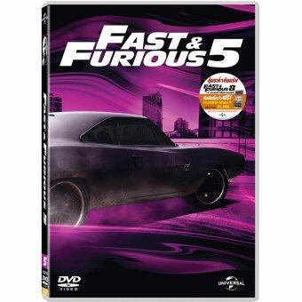 Media Play Fast & Furious 5 (New Line Look) เร็ว แรงทะลุนรก 5(ปกใหม่) DVD