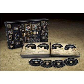 Media Play Harry Potter Complete 8- Film Collection (2016)/แฮร์รี่พอตเตอร์ บ็อกเซ็ตฉบับครบเซ็ต 8 ภาค DVD Collection
