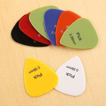 Moonar Instrument Accessories Guitar Pick 10pcs/set - intl
