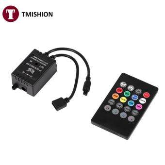 Music Controller 20keys IR Remote Sound Sensor Controllers for RGB Strip Lights - intl · >>>>