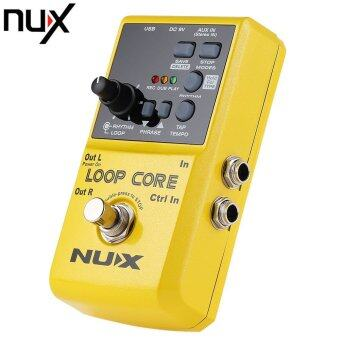 NUX Loop Core Guitar Effect Pedal True Bypass Design with Aluminum Alloy Housing Built-in Drum Pattern