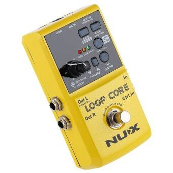 NUX Loop Core Guitar Effect Pedal True Bypass Design with Aluminum Alloy Housing Built-in Drum Pattern - 4