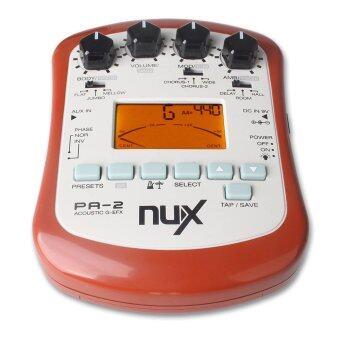 NUX เอฟเฟค Portable รุ่น PA-2 สำหรับกีตาร์โปร่ง - Red