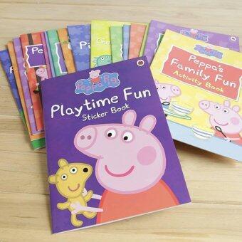 หนังสือ Peppa Pig Activity Books set 16 เล่ม